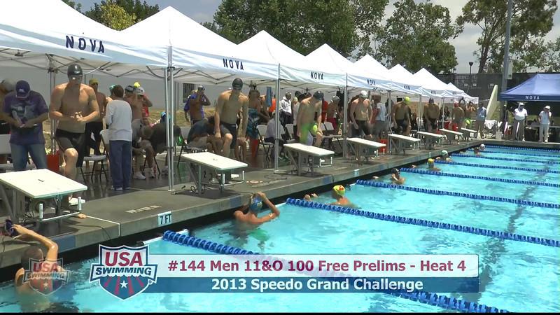 #44 Men 100 Free Heat 6