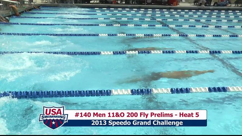 #40 Men 200 Fly Heat 7