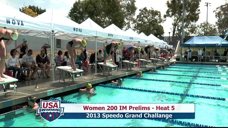 #1 Women 200 IM Heat 8