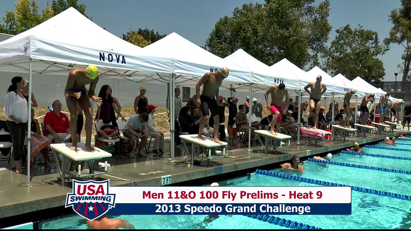 #23 Men 100 Fly Heat 11