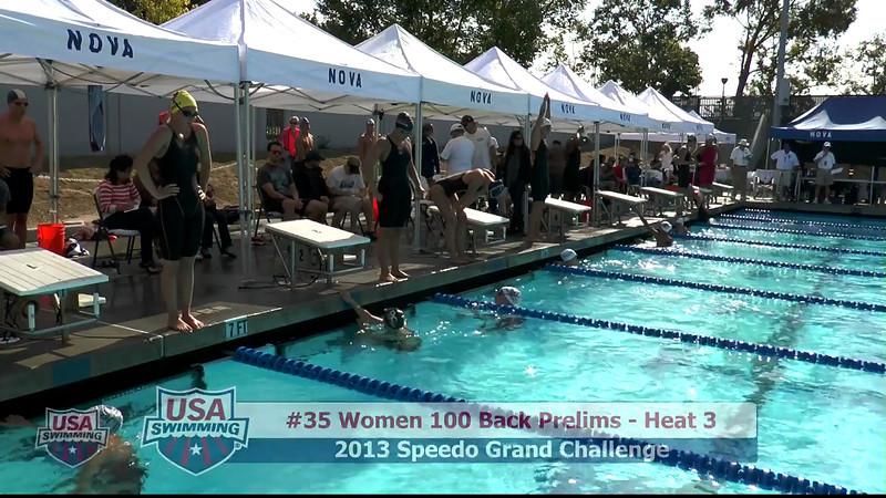 #35 Women 100 Back Heat 3