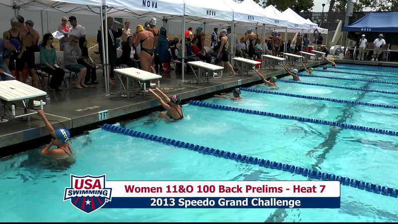 #35 Women 100 Back Heat 10