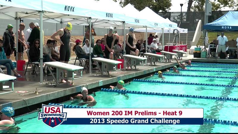 #1 Women 200 IM Heat 12