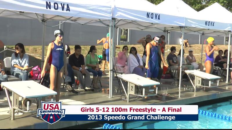 #3 Girls 5-12 100 Free A Final