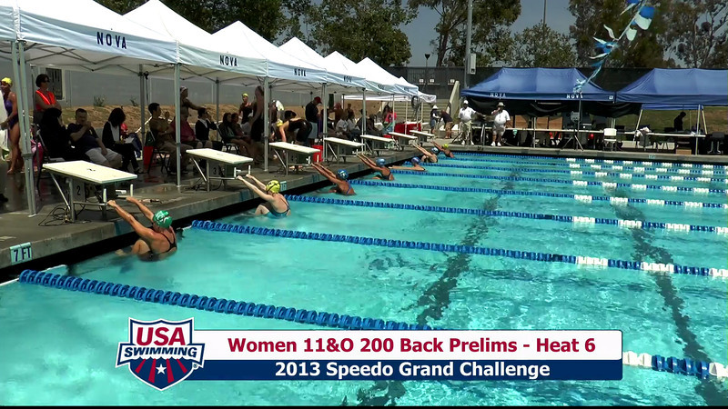 #28 Women 200 Back Heat 10