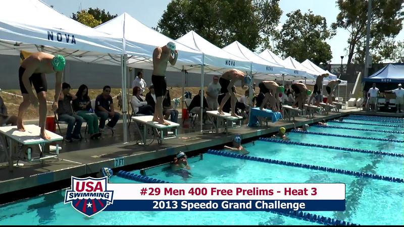 #29 Men 400 Free Heat 3