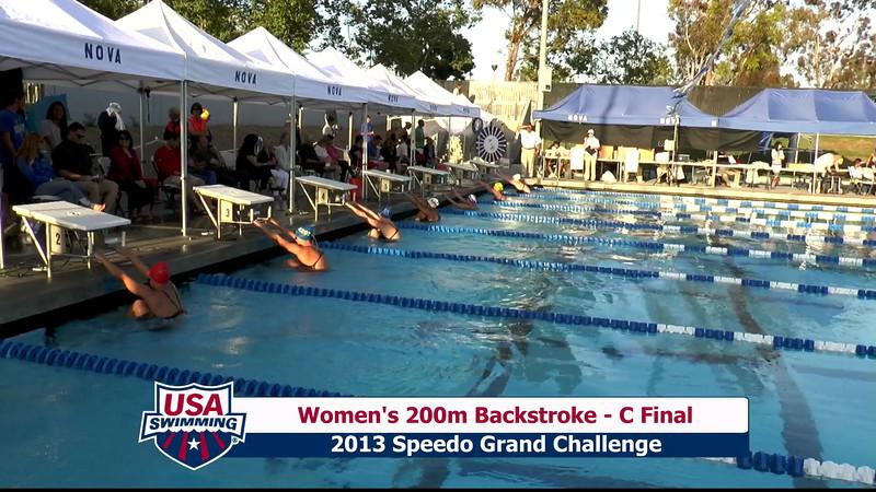 #28 Women 200 Back C Final