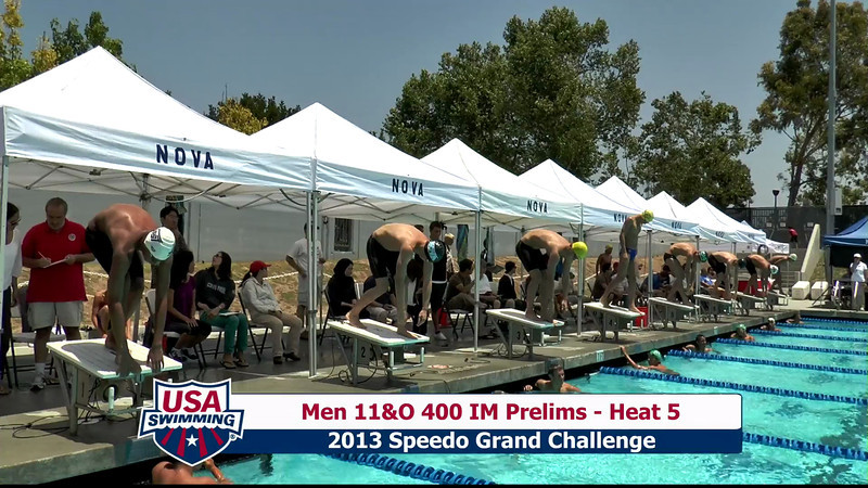 #19 Men 400 IM Heat 9