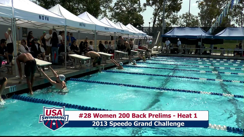 #28 Women 200 Back Heat 1