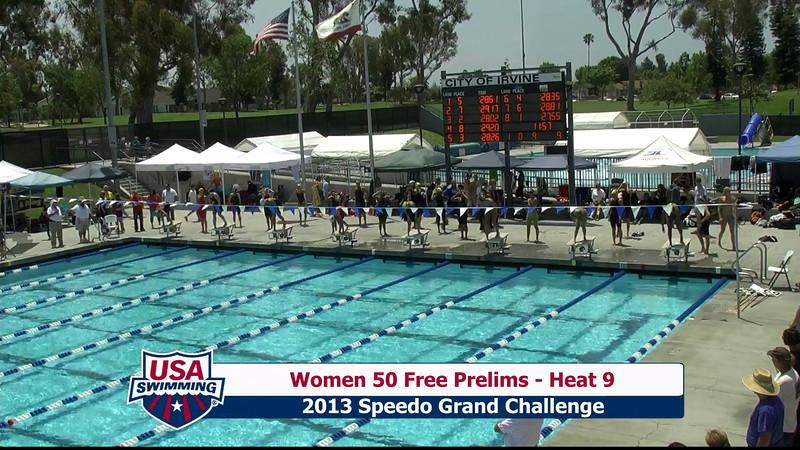 #9 Women 50 Free Heat 12