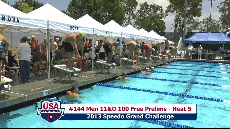 #44 Men 100 Free Heat 7