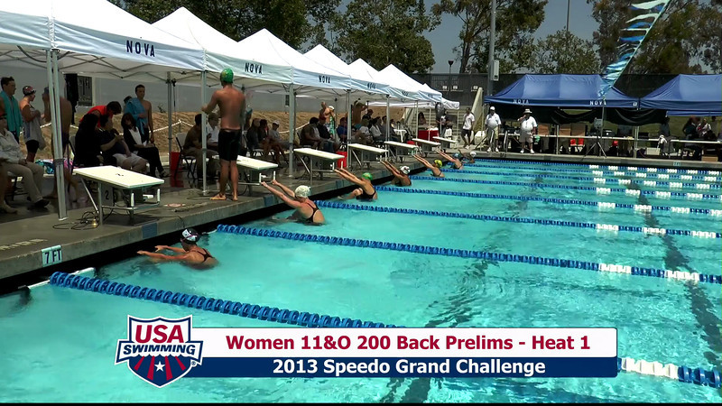 #28 Women 200 Back Heat 5