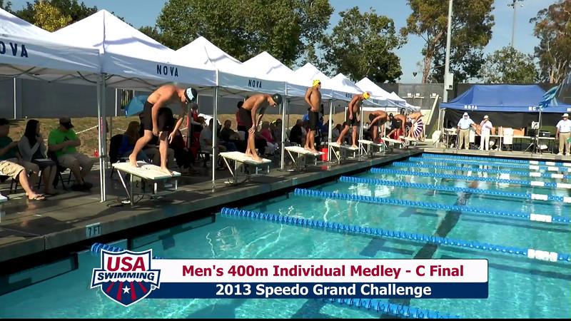 #19 Men 400 IM C Final