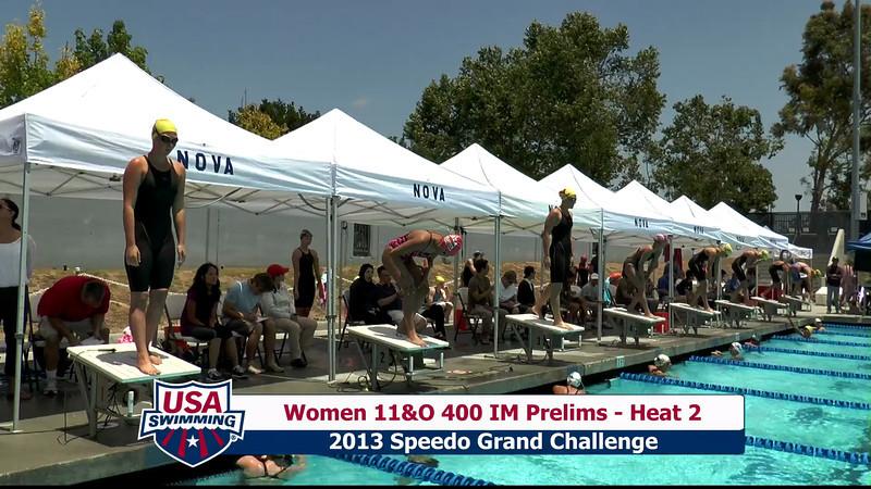 #20 Women 400 IM Heat 6