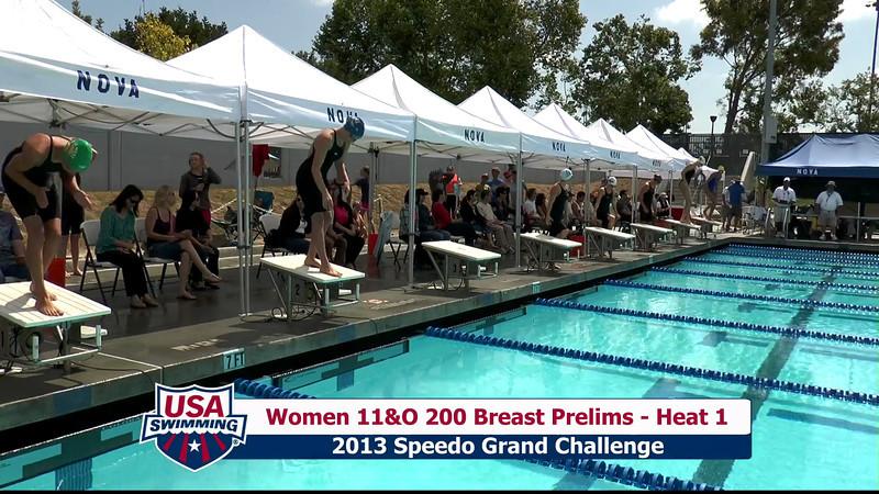 #31 Women 200 Breast Heat 5