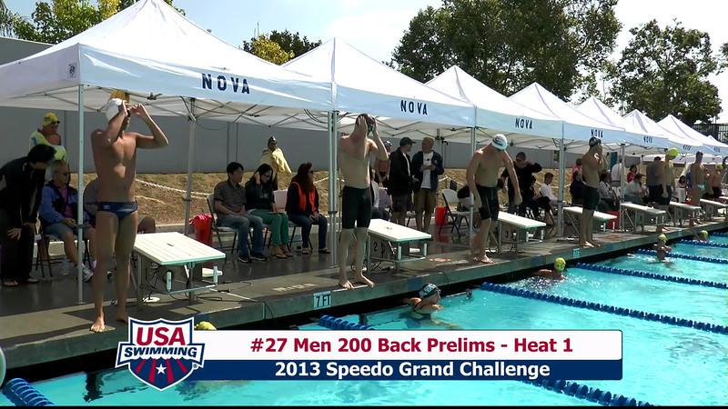 #27 Men 200 Back Heat 1