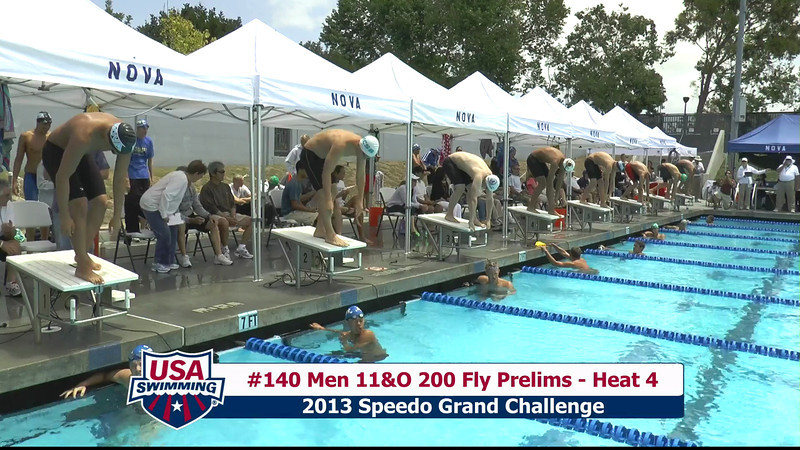 #40 Men 200 Fly Heat 6