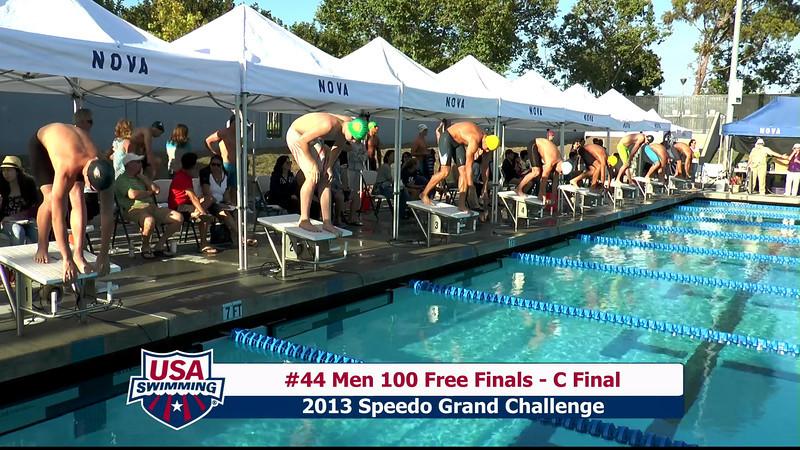 #44 Men 100 Free C Final