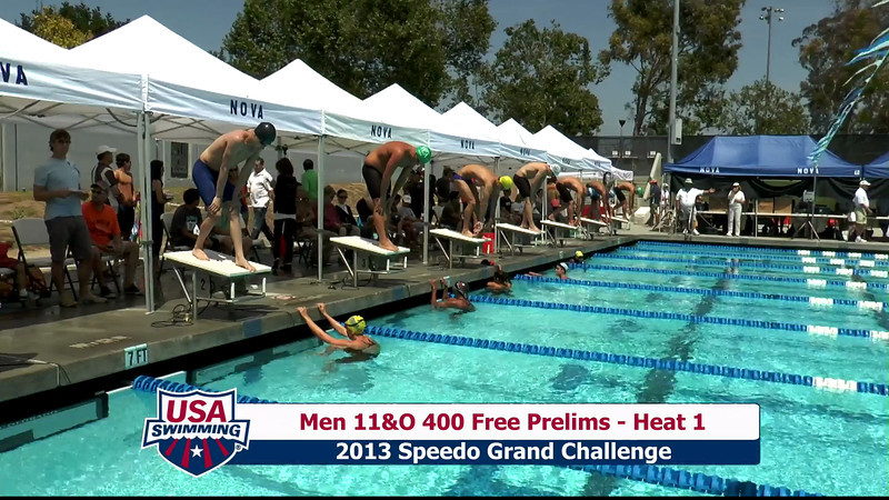 #29 Men 400 Free Heat 5
