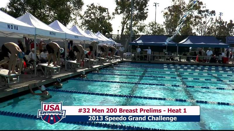 #32 Men 200 Breast Heat 1