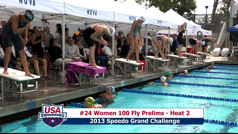 #24 Women 100 Fly Heat 2