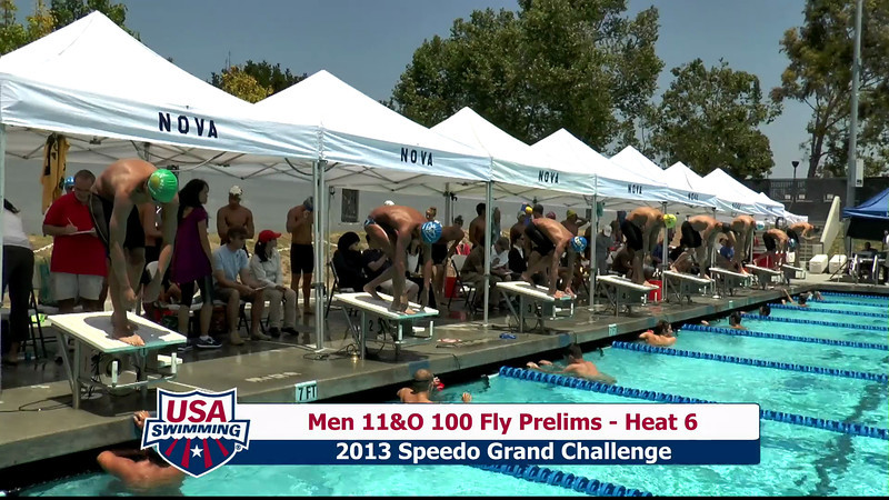#23 Men 100 Fly Heat 8