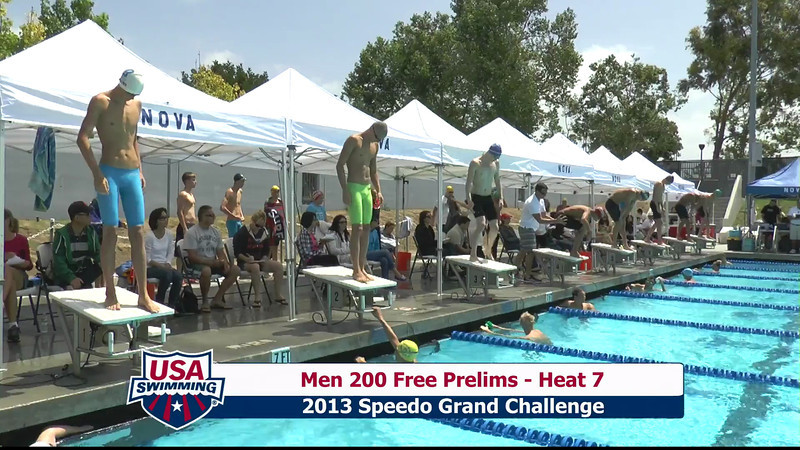 #2 Men 200 Free Heat 10