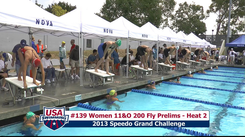 #39 Women 200 Fly Heat 5