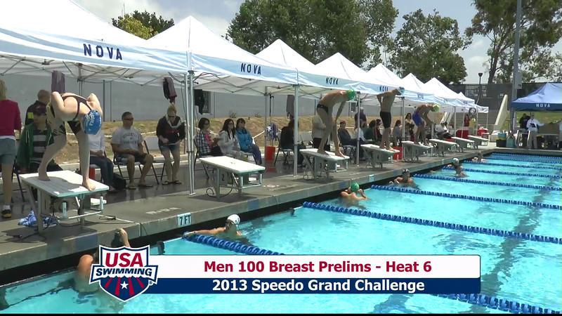 #6 Men 100 Breast Heat 9