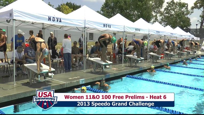 #43 Women 100 Free Heat 9