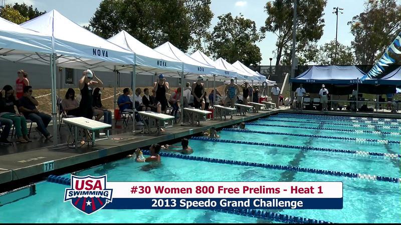 #30 Women 800 Free Heat 1