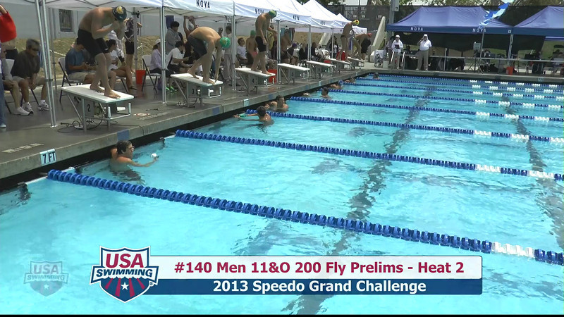 #40 Men 200 Fly Heat 4