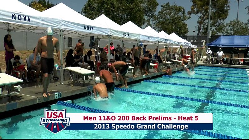 #27 Men 200 Back Heat 9