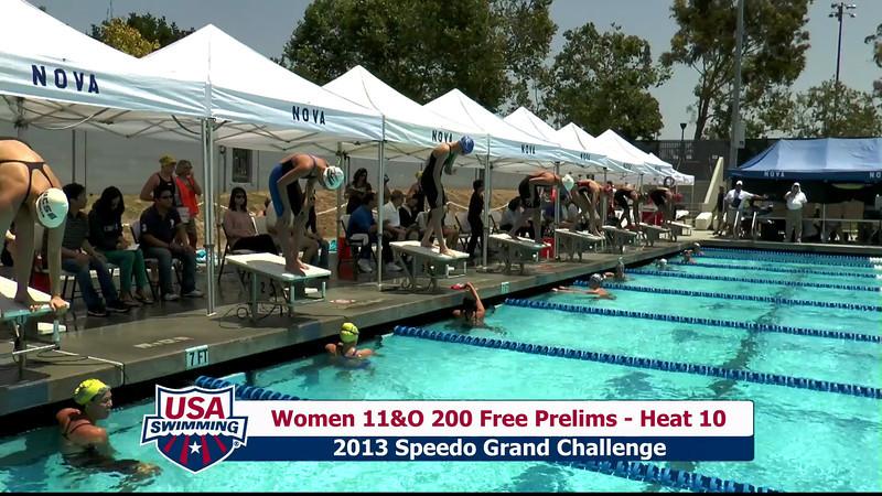 #16 Women 200 Free Heat 13