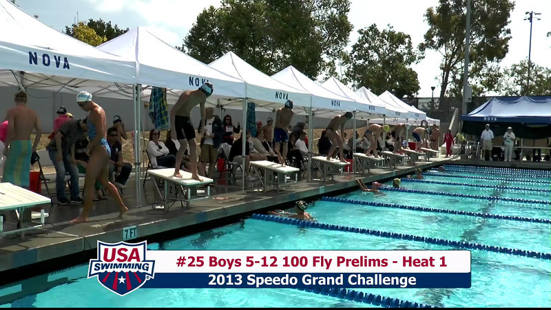 #25 Boys 5-12 100 Fly Heat 1