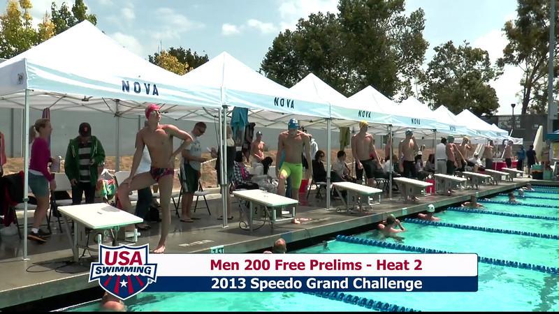 #2 Men 200 Free Heat 5