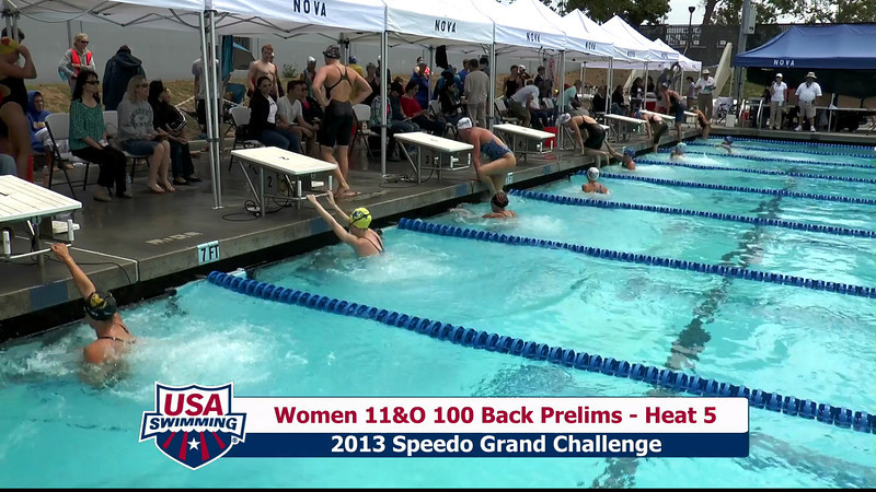 #35 Women 100 Back Heat 8