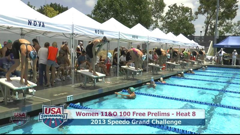 #43 Women 100 Free Heat 11