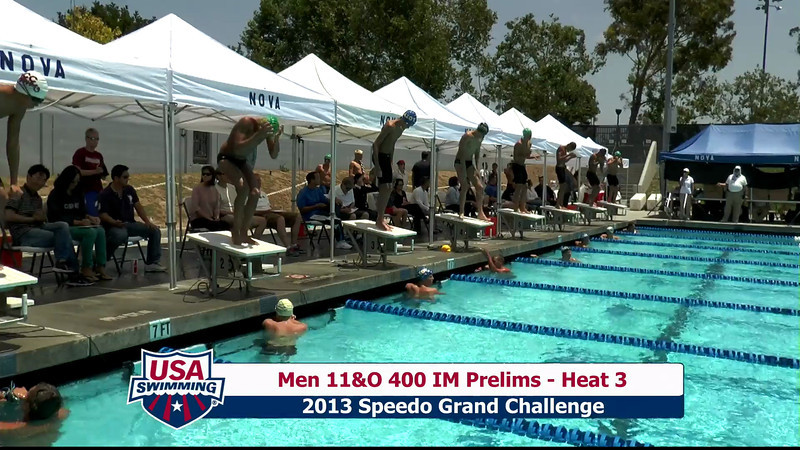 #19 Men 400 IM Heat 7