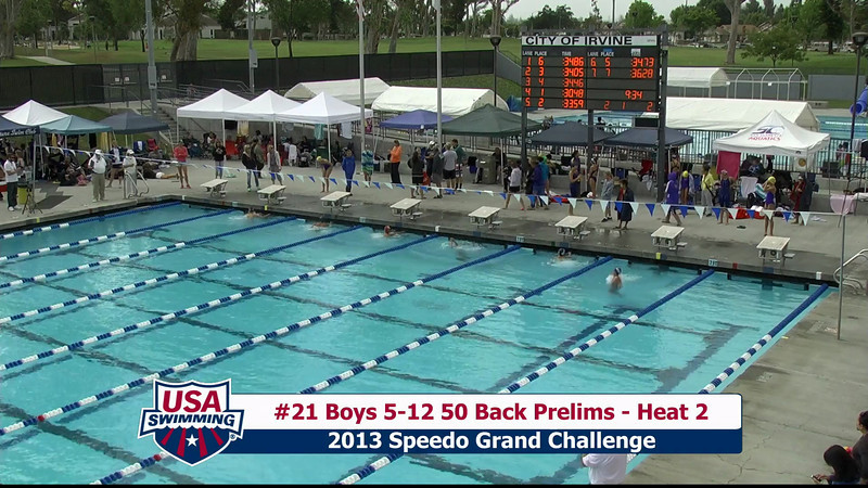 #21 Boys 5-12 50 Back Heat 2