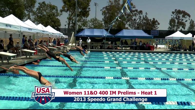 #20 Women 400 IM Heat 5