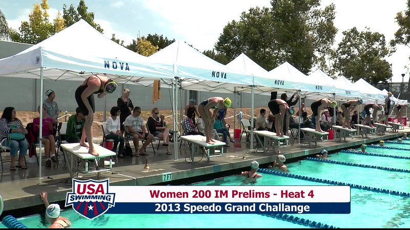 #1 Women 200 IM Heat 7