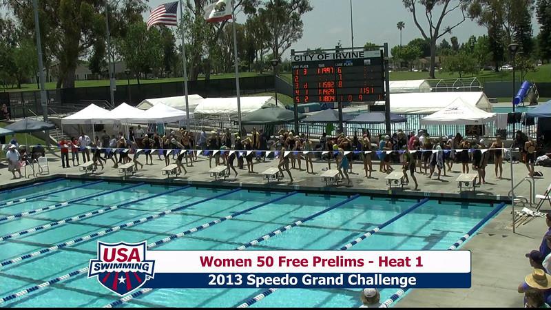 #9 Women 50 Free Heat 4