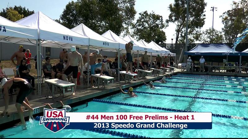 #44 Men 100 Free Heat 1
