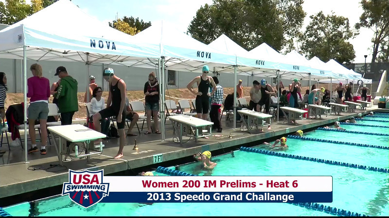 #1 Women 200 IM Heat 9