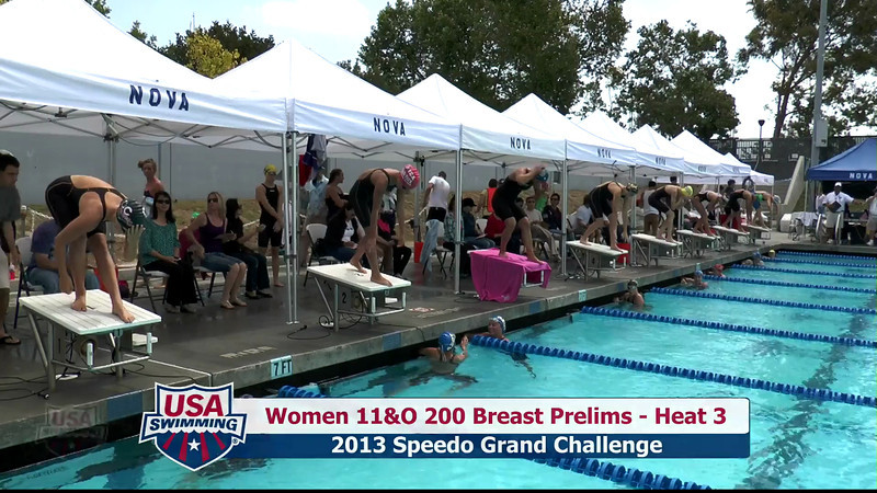 #31 Women 200 Breast Heat 7
