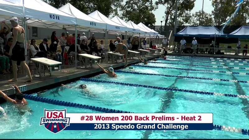 #28 Women 200 Back Heat 2