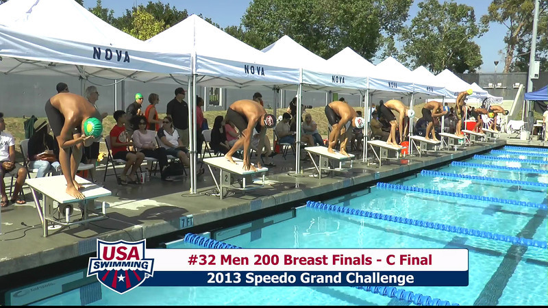 #32 Men 200 Breast C Final