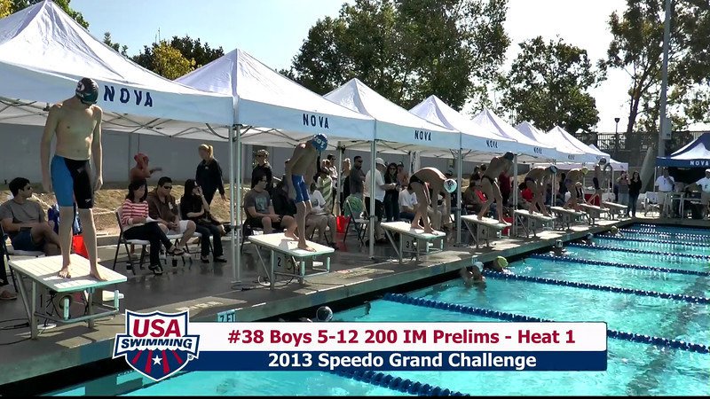 #38 Boys 5-12 200 IM Heat 1