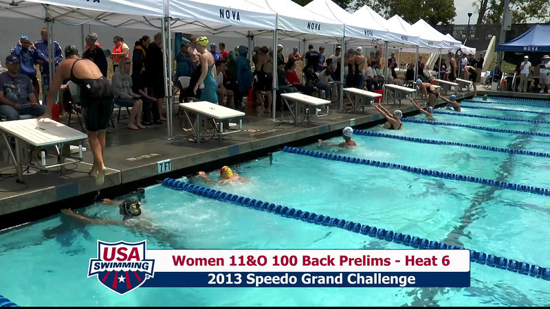 #35 Women 100 Back Heat 9
